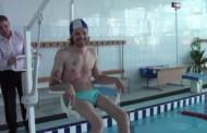 Подъемник для инвалидов в бассейне г. Лида