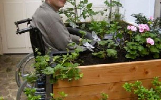 TERRAform - сад адаптированный для людей с ограниченными физическими возможностями