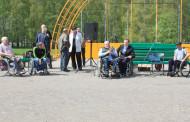 Митинг инвалидов-колясочников в Минске