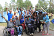 8-й Республиканский туристический слет инвалидов-колясочников «Полесские зори»