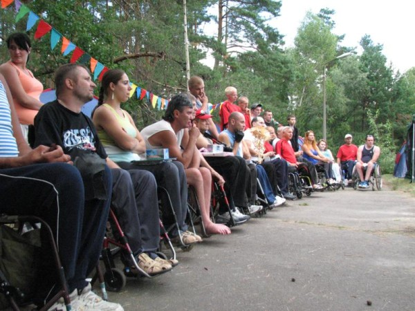 Открытие 4-го Республиканского турслёта инвалидов-колясочников