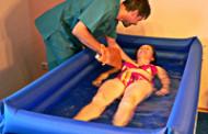 Надувная ванна для парализованных людей