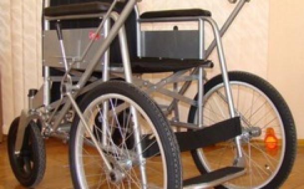 Кресло-коляска прогулочное (с рычажным приводом)
