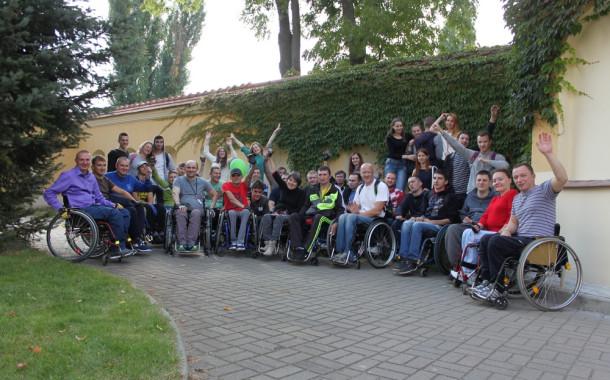 Слёт активной реабилитации для курсантов тетро. Пинск-2016