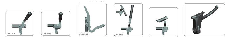 ручной тормоз для инвалидной коляски