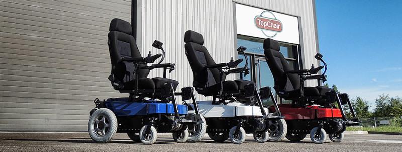 Инвалидное кресло TopChair-S