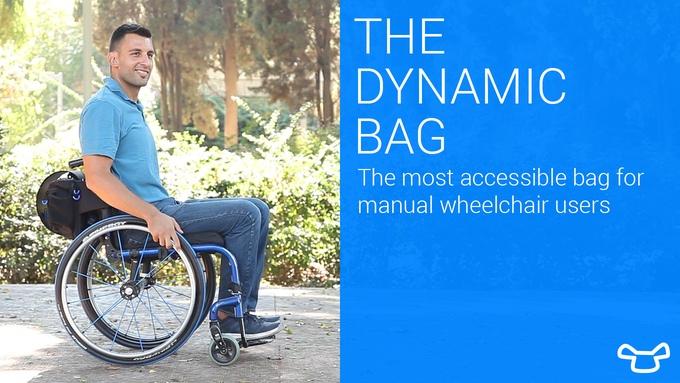 Рюкзак для инвалида-колясочника